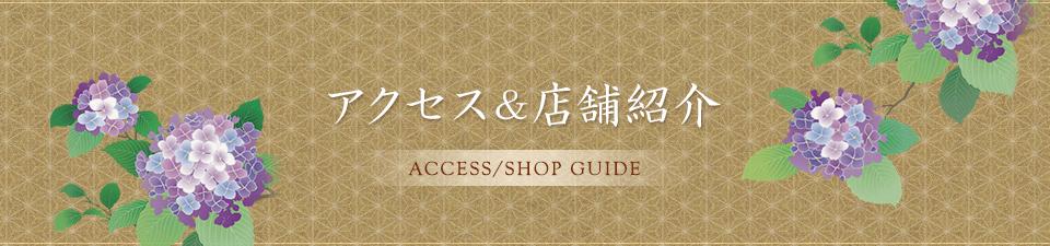 アクセス&店舗紹介